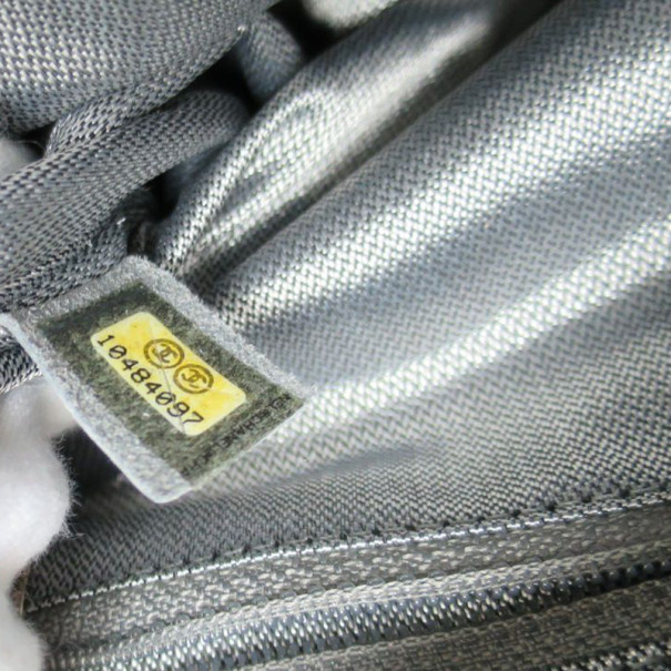Chanel Black Patent Mademoiselle Shoulder Bag