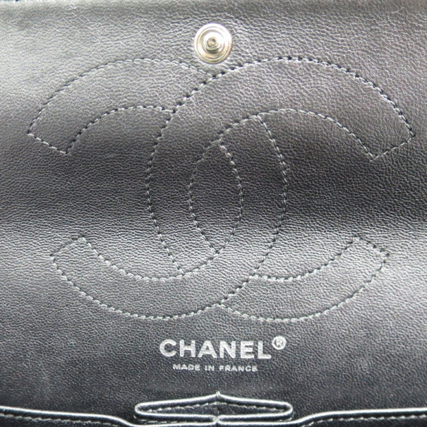 Chanel Black Lambskin Reissue Single Flap Shoulder Bag