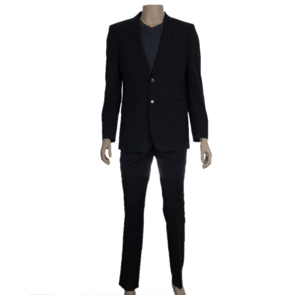 Burberry Men's Slim Fit Tailored Suit EU48