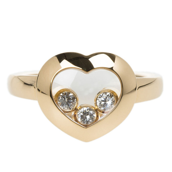 Chopard Happy Curves Ring Size 54