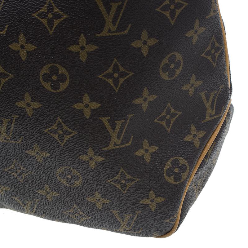 Louis Vuitton Monogram Coated Canvas Delightful Hobo MM