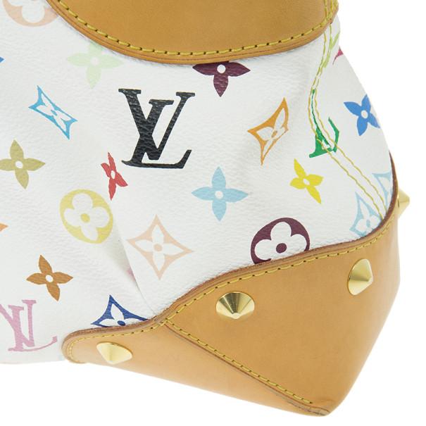 Louis Vuitton White Monogram Multicolor Judy