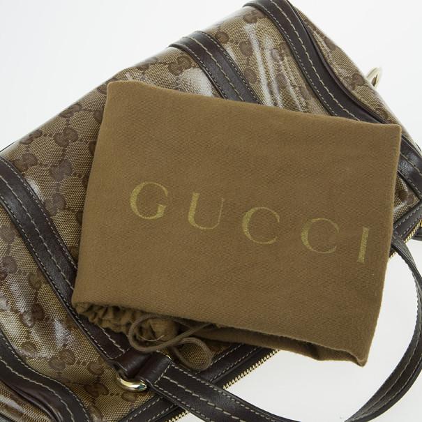 Gucci Guccissima Duchessa Medium Boston