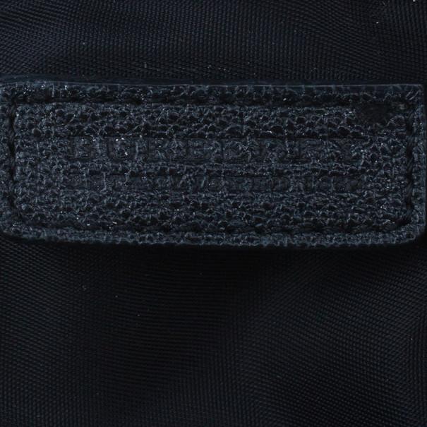Burberry Black Nylon Cosmetics Pouch