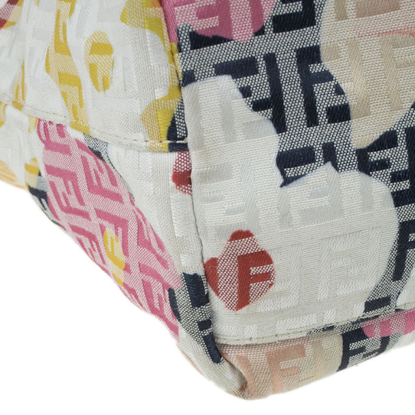 Fendi Floral Forever Shopping Tote