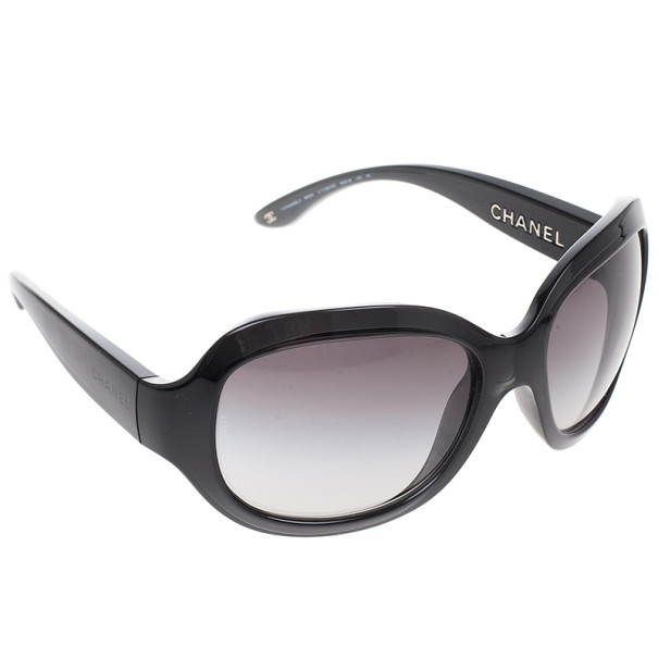 Chanel Black Square Sunglasses