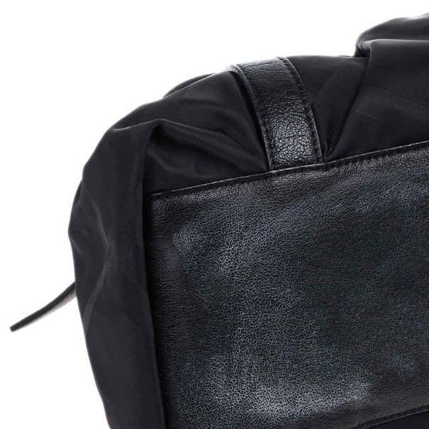 Burberry Black Textile Shoulder Bag