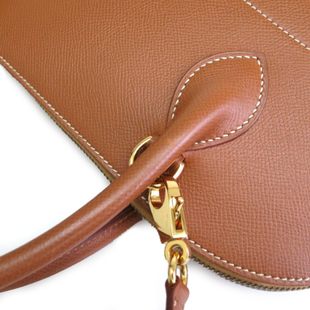 Hermes Courchevel Brown Bolide Bag 37