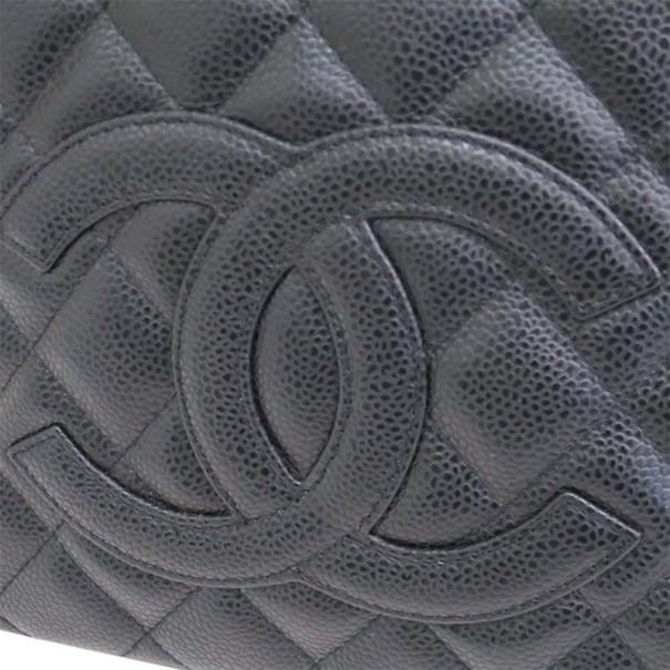 Chanel Black Caviar Shopper Tote