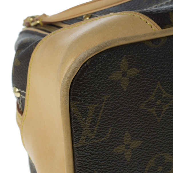 Louis Vuitton Limited Edition Monogram Canvas Riveting Tote