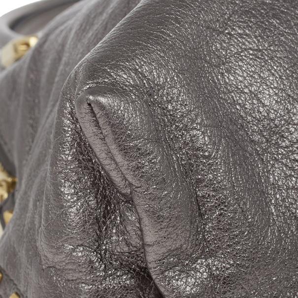 Marc Jacobs Metallic Silver Tote
