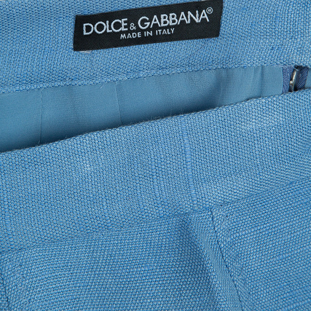 Dolce and Gabbana Grey Pencil Skirt M
