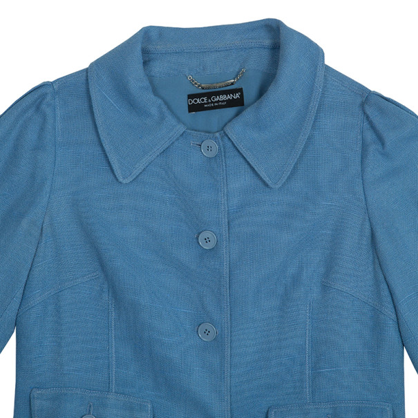Dolce and Gabbana Button Up Jacket S