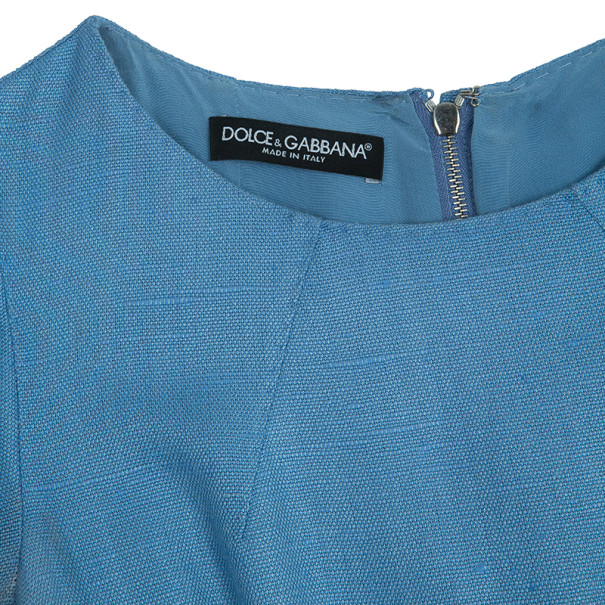 Dolce and Gabbana Short Sleeves Shift Dress S