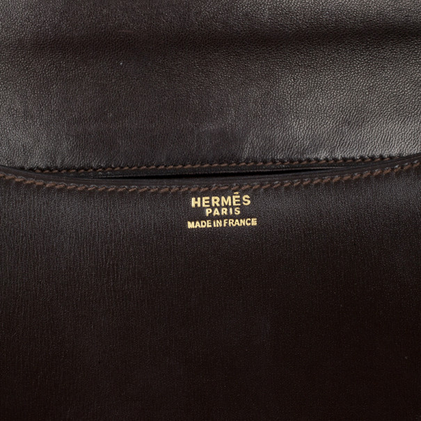 Hermes Brown Constance bag