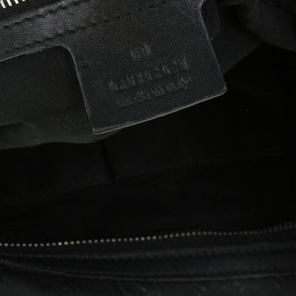 Gucci Guccissima Leather 'GG Twins' Medium Hobo