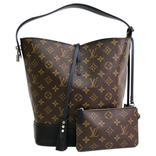 Louis Vuitton Monogram Idole Black Autres Hobo GM