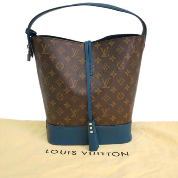 Louis Vuitton Monogram Idole Blue Autres Hobo GM
