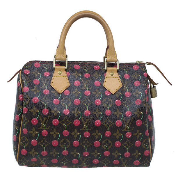 Louis Vuitton Cerises Monogram Canvas Speedy 25