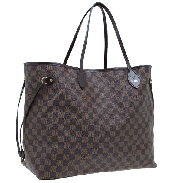 Louis Vuitton Damier Ebene Canvas Neverfull GM