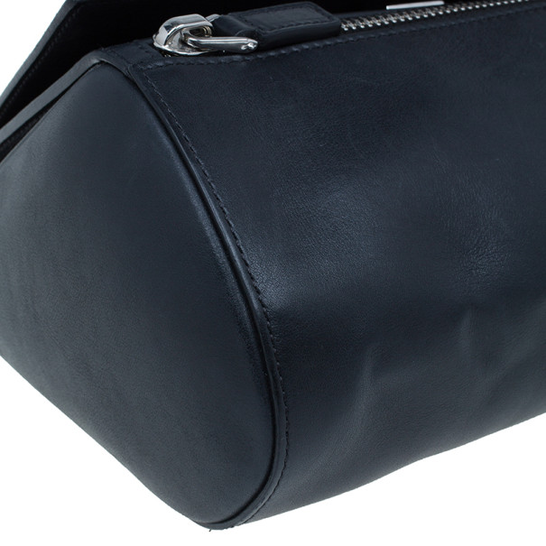Givenchy Black Leather Medium Pandora Box Bag