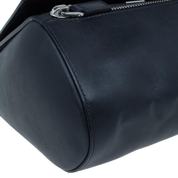 Givenchy Black Leather Medium Pandora Box Bag
