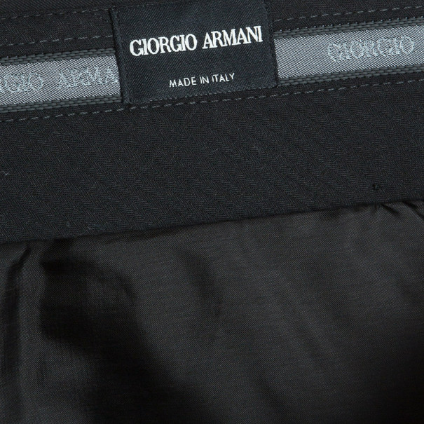 Giorgio Armani Men's Tailored Wool Trousers XXL