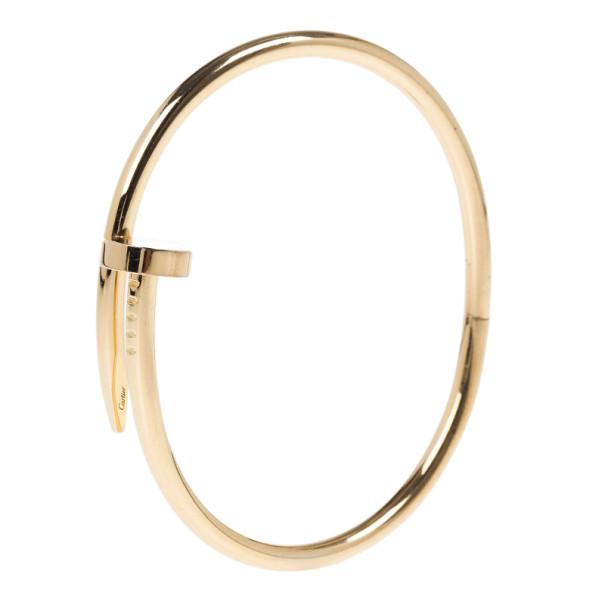 Cartier Juste Un Clou Rose Gold Bracelet 17CM
