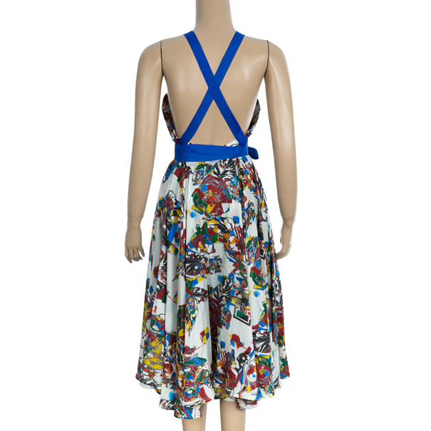 McQ by Alexander McQueen Printed Midi Dress M