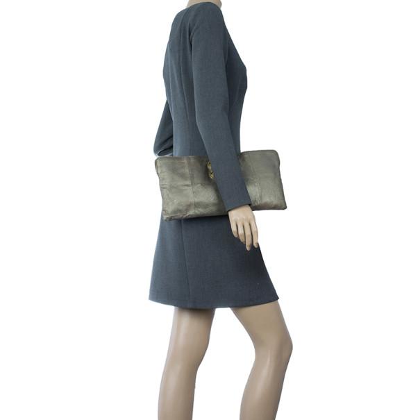 knock off chloe bags - LC - Buy \u0026amp; Sell - Chloe Metallic Leather Crystal Embellished Clutch