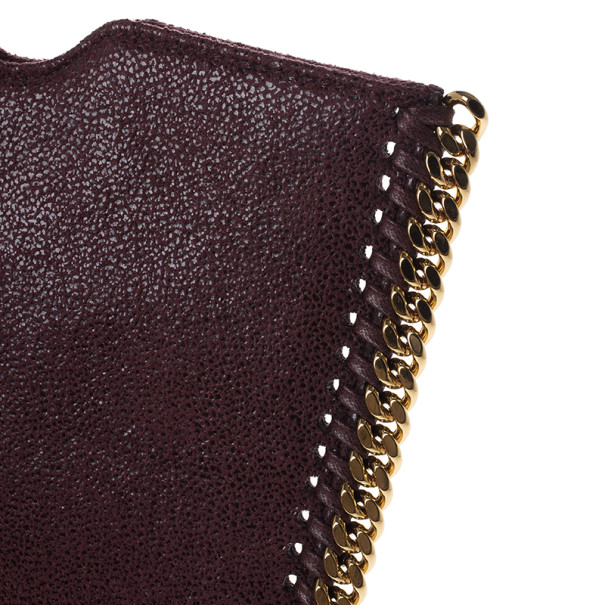 Stella McCartney Mini Burgundy Fallabella iPad Case