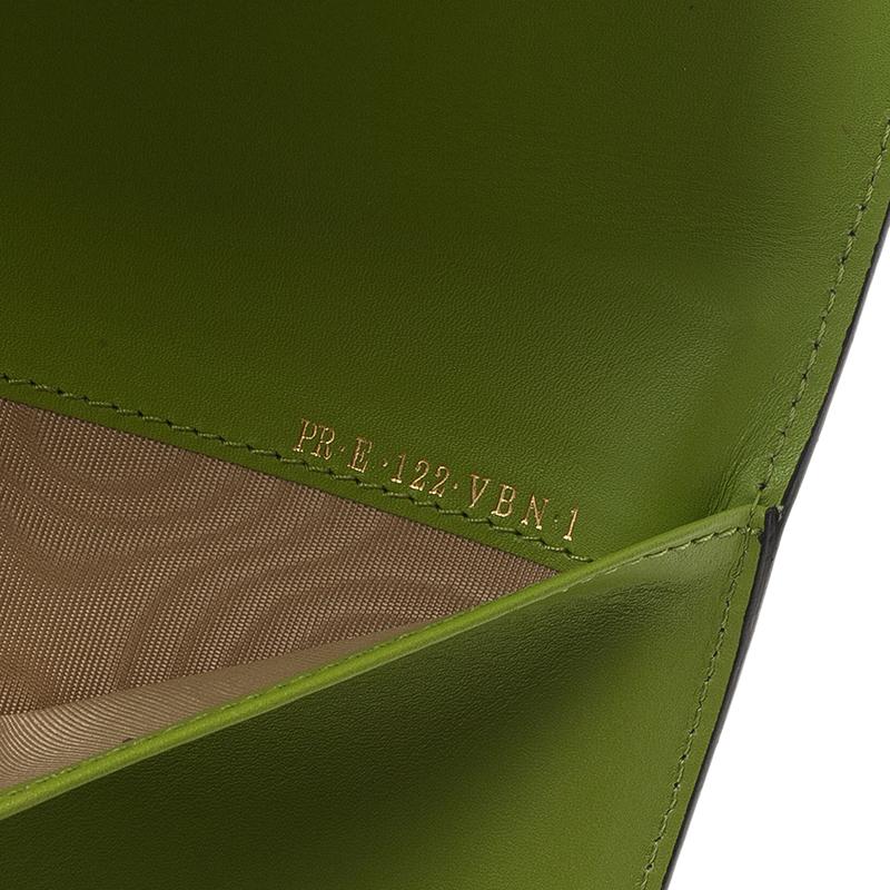 Valentino Green Leather iPad Case