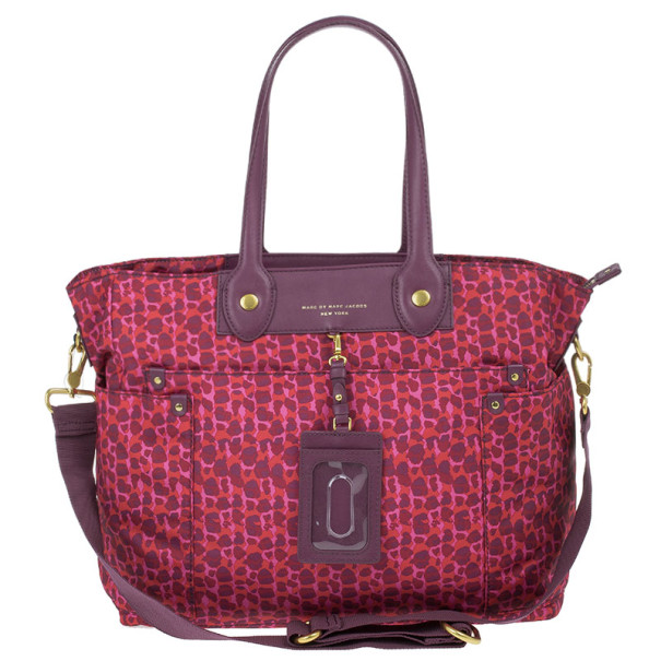 Marc by Marc Jacobs Pink Preppy Nylon Elizababy Bag
