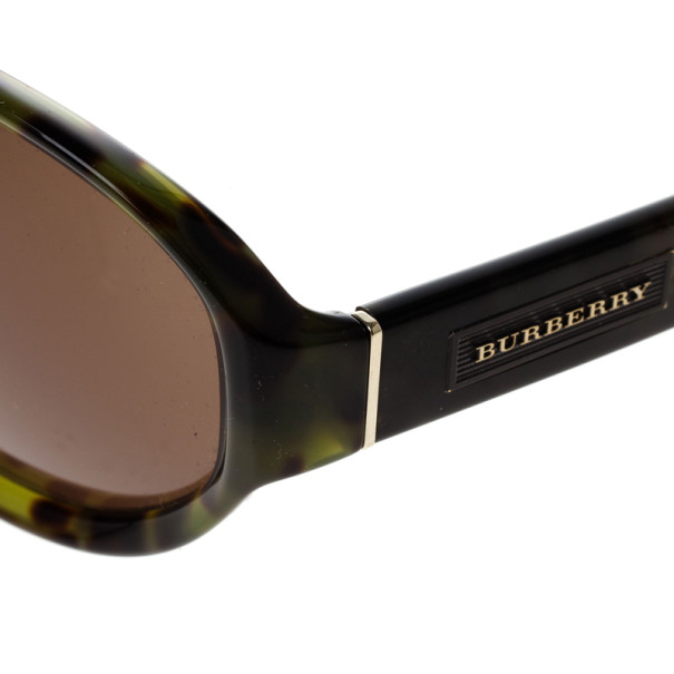 Burberry Tortoise Frame 4113 Polarised Men's Sunglasses