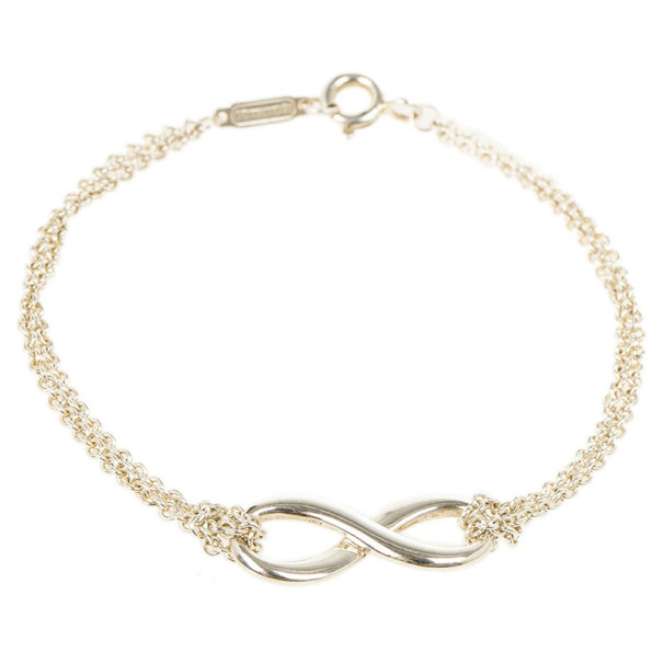 Tiffany & Co. Infinity Silver Bracelet