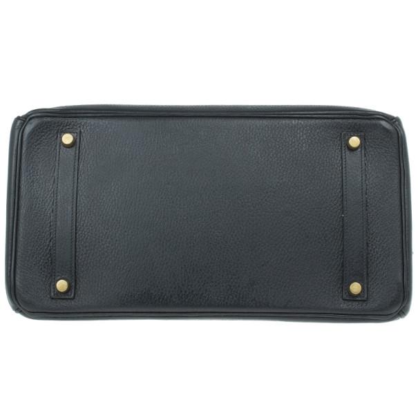 Hermes Black Togo Leather Birkin 35
