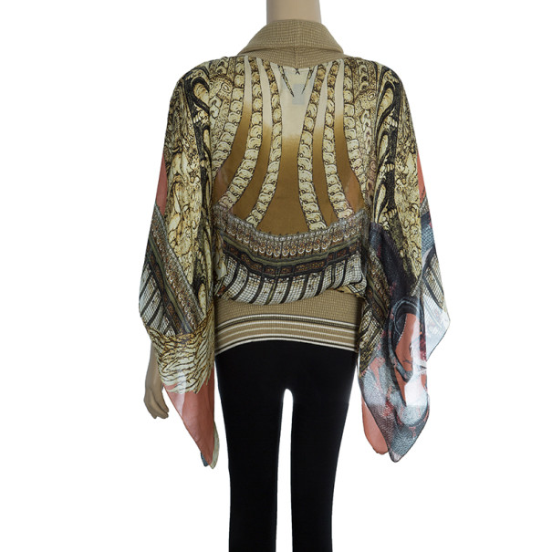 Class by Roberto Cavalli Turtleneck Top M
