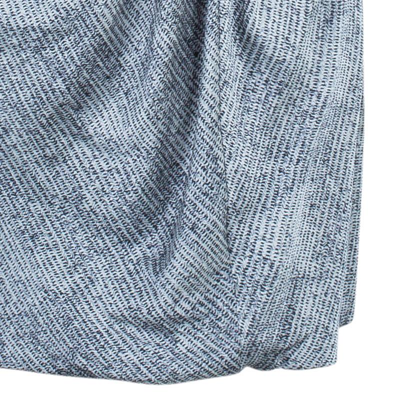 Giorgio Armani Monochrome Strapless Cocktail Dress L