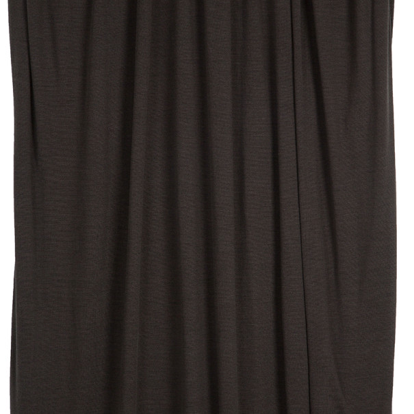 Lanvin Draped Dress L