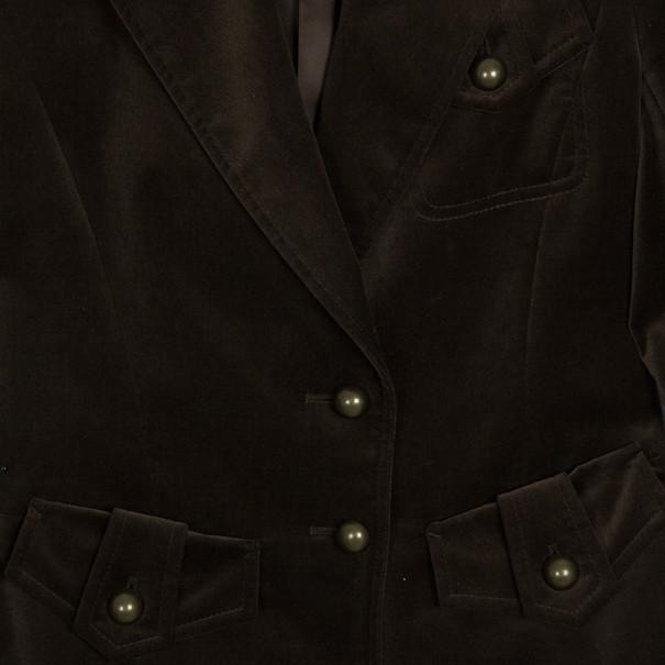 Saint Laurent Paris Velvet Jacket M
