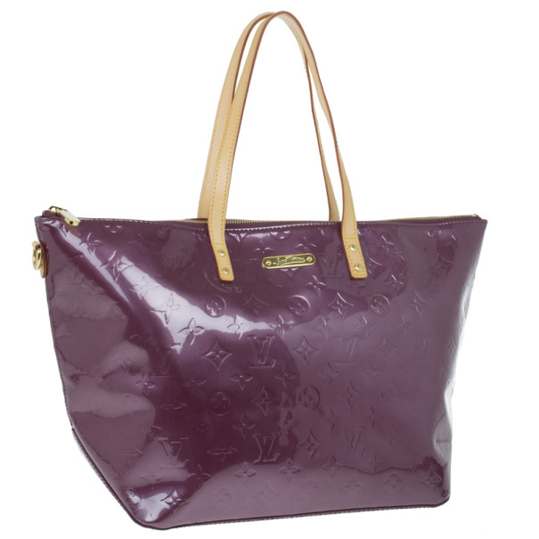 Louis Vuitton Violette Vernis Monogram Bellevue GM Tote