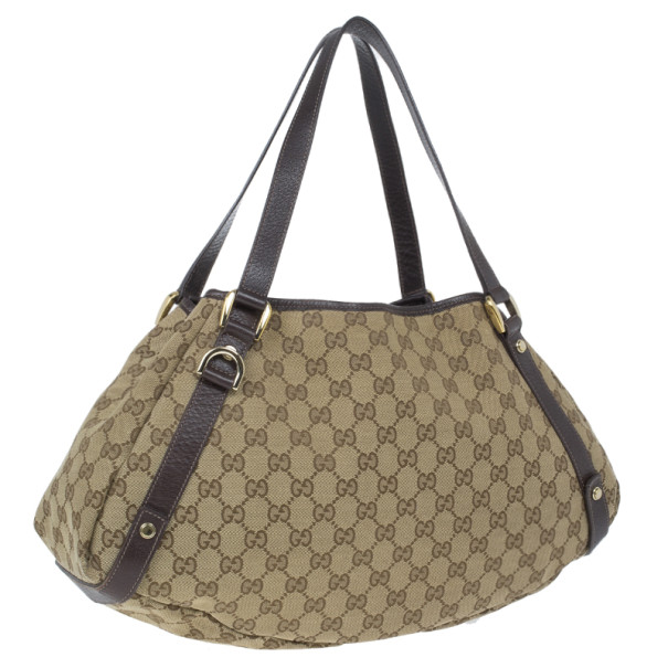 Gucci Monogram Abbey D-Ring Hobo