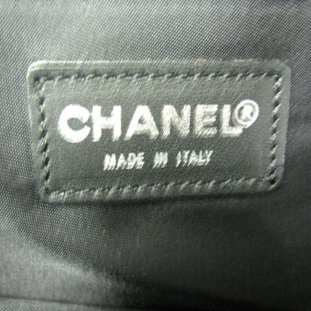 Chanel Black Lambskin No.5 Tote