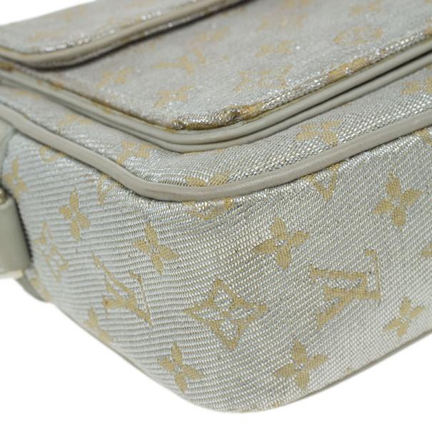 Louis Vuitton Small Silver Sparkly Pochette