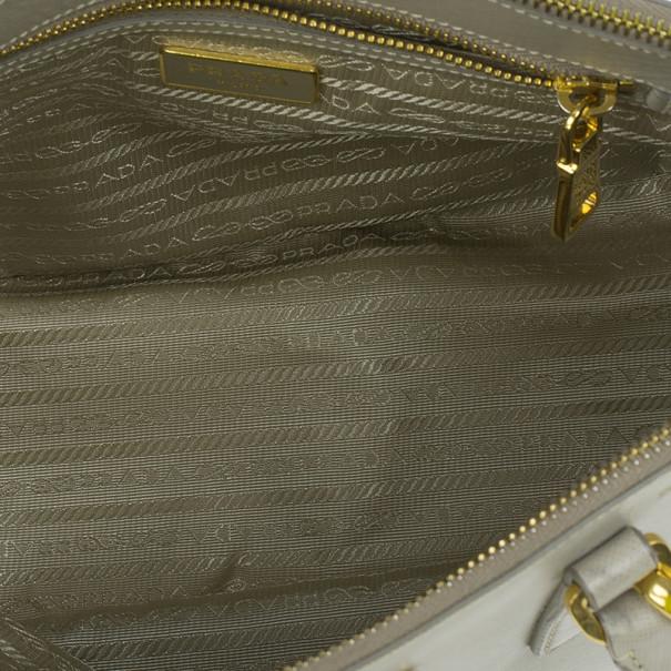 Prada Saffiano Top Handle Lux Tote