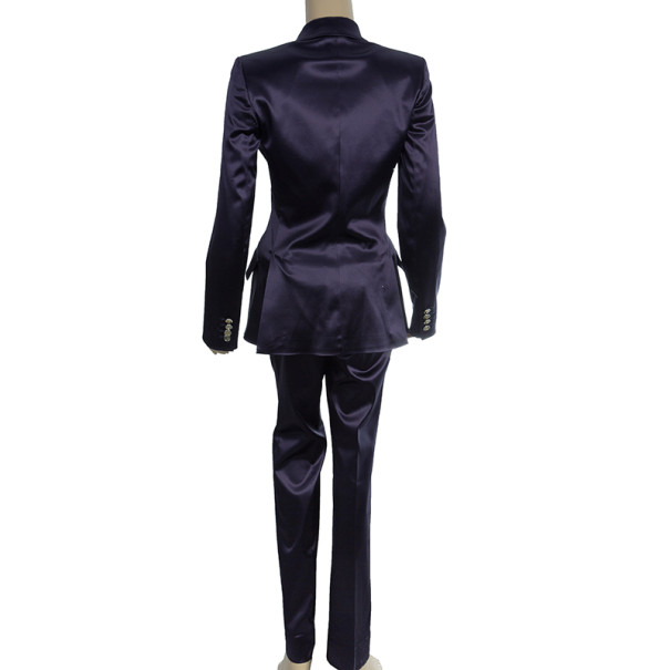 Dolce and Gabbana Silk Single Breasted Suit S