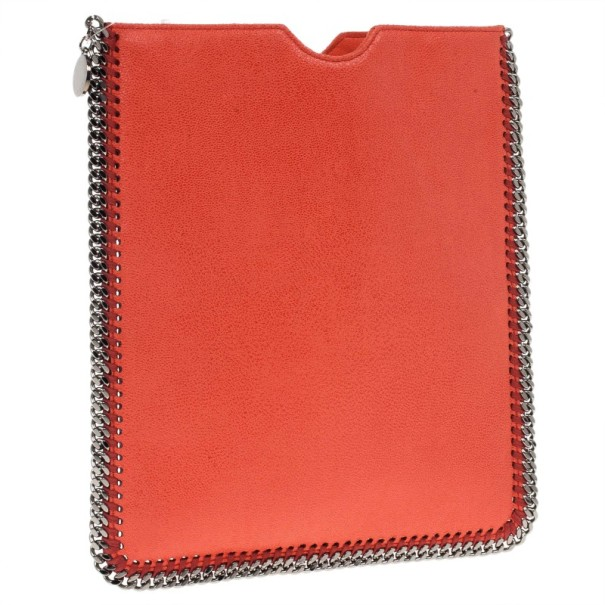 Stella McCartney Orange Falabella iPad Case