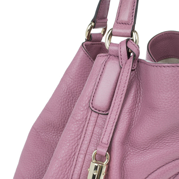Gucci Parma Pink Leather Soho Bag