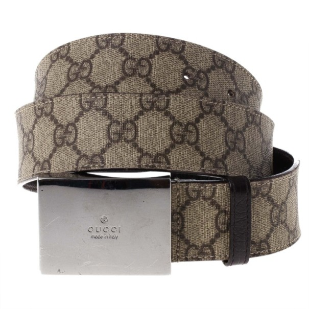 Gucci Beige Guccissima Leather Belt 90CM