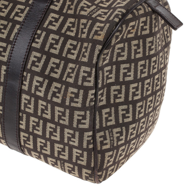 Fendi Forever Bauletto Small Boston Bag